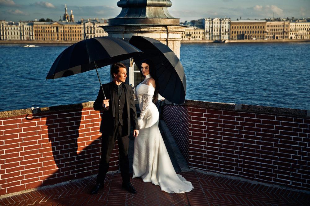 Свадьба в санкт-петербурге для двоих, цветы